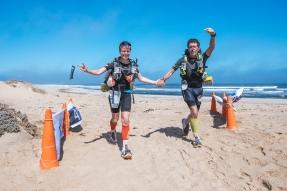 Kirsten Althoff Gewinnerin des Sahara Race 2017