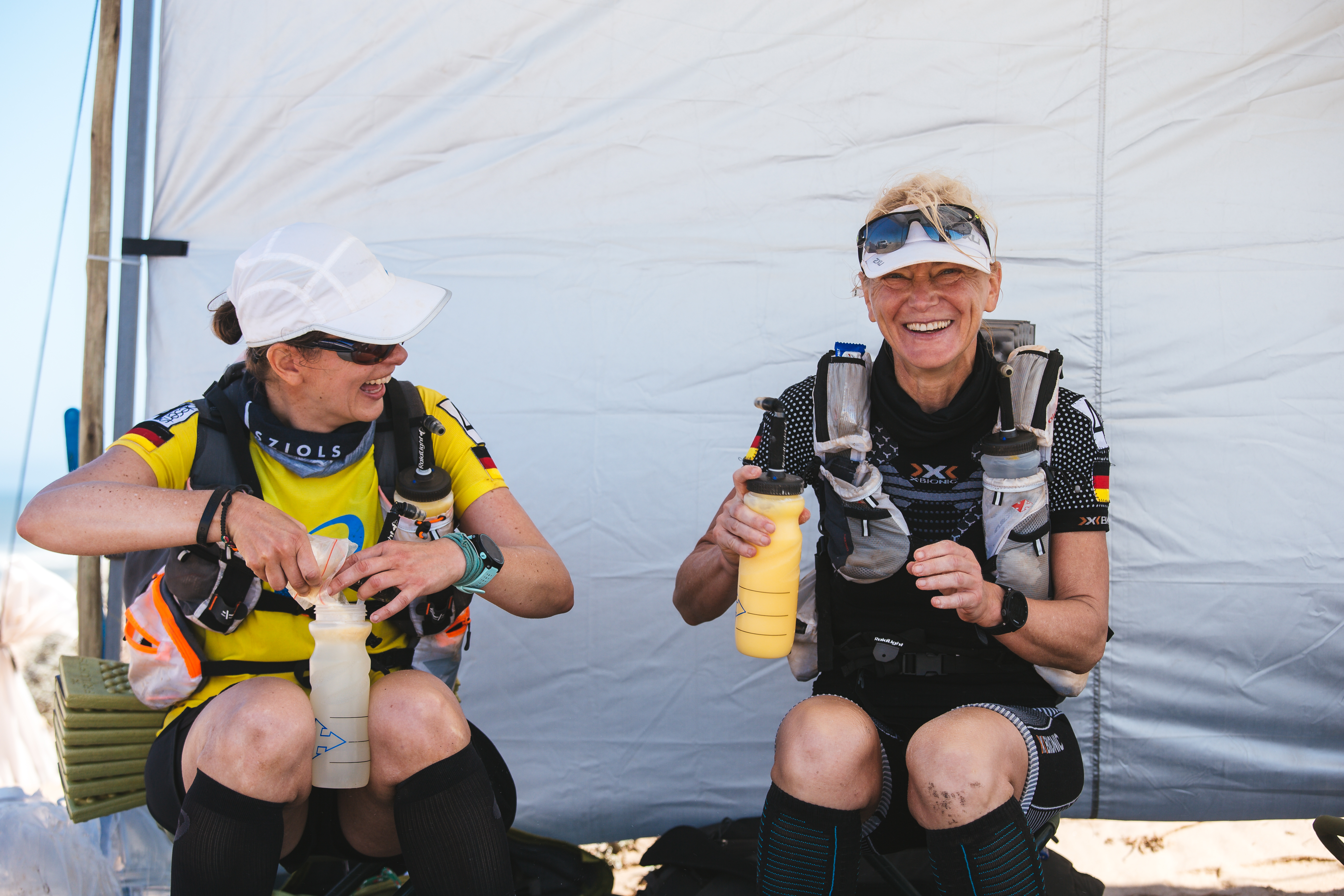 Andrea Löw und Martina Hesseling